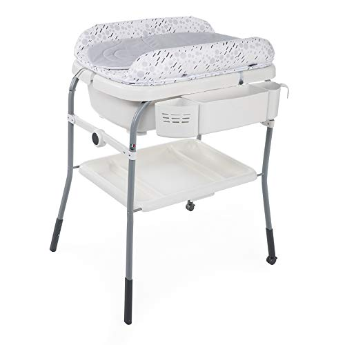 Chicco Combi Bain Baignoire Change Cuddle/Bubble Cool Grey - Table à...