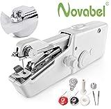NOVABEL Mini Machine à Coudre Portative pour débutant - machine à coudre portable...