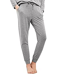 Damen Schlafanzughose Pyjamahose Nachtwäsche Lang Sleep Hose Pants aus Modal