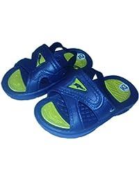 MuMa Sandalo Bimbo Blis Blu in PVC Antiscivolo per Piscina da 24 a 29 (28)