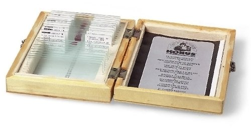 50-vetrini-bianchi-da-preparare-microscopio-konus-5070