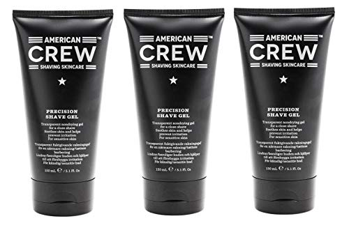3er American Crew Precision Shave Gel 150 ml (Crew Precision Shave Gel)