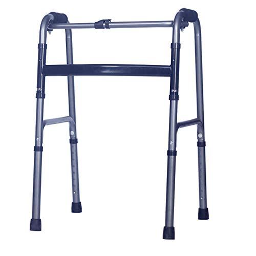 Peixia walker multifunzionale - aiuto bastone da passeggio gli anziani - pieghevole anti-scivolo pieghevole retrattile - camminatore disabile
