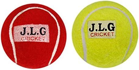 Pinaak Online Cricket Tennis Ball Light Weight (Set of 4)