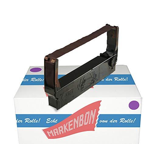 Farbbandkassette passend für Fuji System FZ 2144 [violett] markenbon ERC23P Gruppe 657 (1 Karton mit 1 Stück)