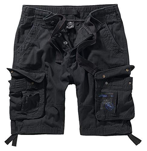 Brandit Pure Vintage Shorts, Schwarz XXL
