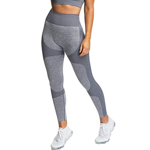DAY8 Damen Hosen Sommer Jeans Stretch Stoffhose Yogahosen FüR Freizeithose Stoff Aladinhose Kurz Grau S - Stretch Hose, Stoff