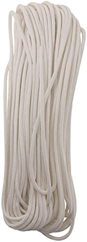 Bianco Bianco Bianco Para Cord 100 Ft | prezzo al minuto  | Varietà Grande  55b8d8