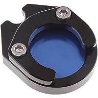 Homyl Cojín de Extensión de Base Soporte Lateral For Yamaha NMAX155 Reemplazo - Azul