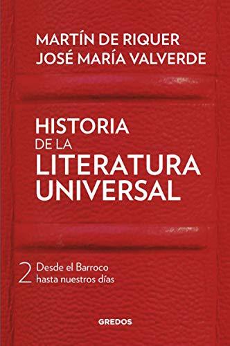Historia de la literatura universal II (VARIOS GREDOS)