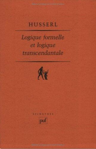 Logique formelle et Logique transcendantale