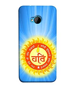 PrintVisa Designer Back Case Cover for HTC M7 :: HTC One M7 (Spirituval personality vaahi foundation)