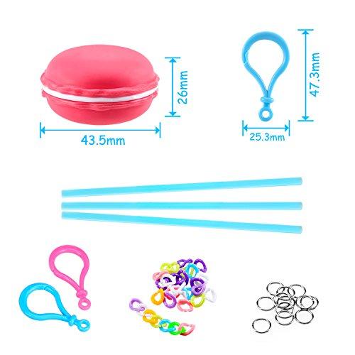 Foonii 12PCS Slime Macaron 3D Crystal Mud Kit  Arcilla de caucho plastilina DIY Creativa Modeladora liberación de presión de alivio de estrés Magic Plasticine Kid Juguetes