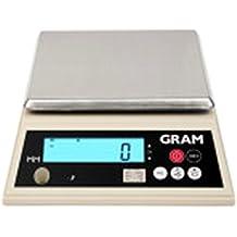 Balanza compacta Gram Precision (MM-6000 6Kg/1g) dimensiones del plato 175x175mm