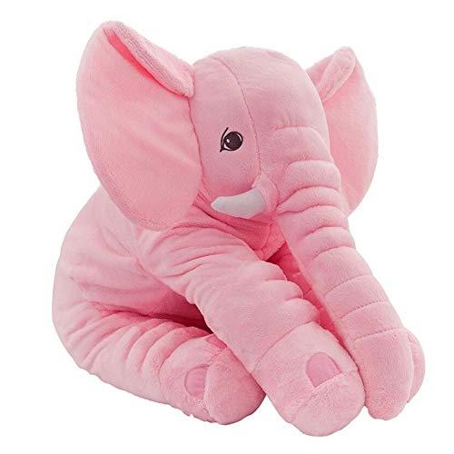CTlite - Almohada de Peluche con Forma de Elefante para bebé, niña,...