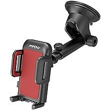Mpow Versione Aggiornata Supporto Auto Smartphone Culla Regolabile per  Cruscotto Dashboard Parabrezza df79a80e8744