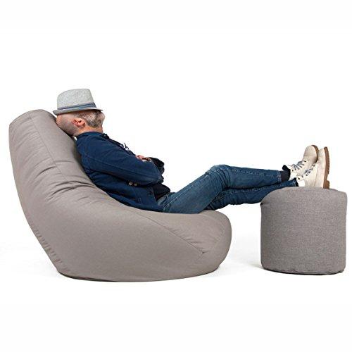 Pouf Da Salotto.Arketicom 68 Sessantotto Poltrona Relax Pouf Design Moderno Poltrona