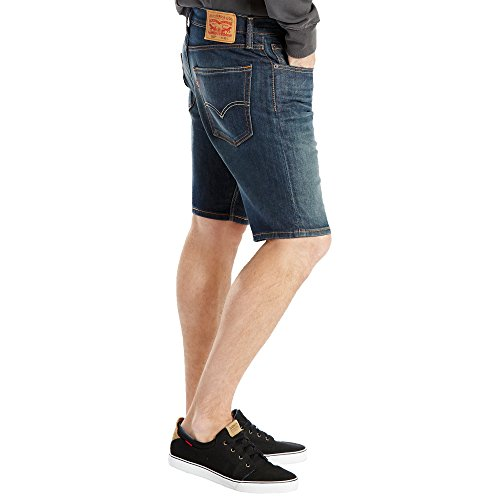 Levis Jeansshorts Men 502 TAPER HEMMED SHORT 32792-0002 Rosefinch Blau