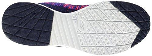 Skechers - Air Infinity Wlidcard, Scarpe sportive outdoor Donna Blu (Marine/Rose)