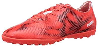 adidas Men's F10 TF Solar Red, Footwear White Core Black Football Shoes - 8 UK