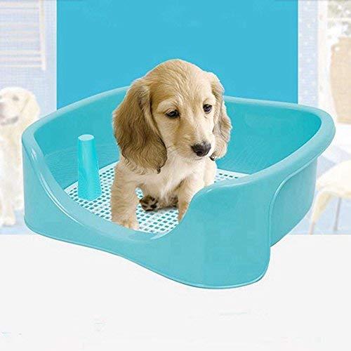 TeaQ baño entrenador para perro grande, W.C. 50x 40x 17cm, orinal para perros, protección del suelo