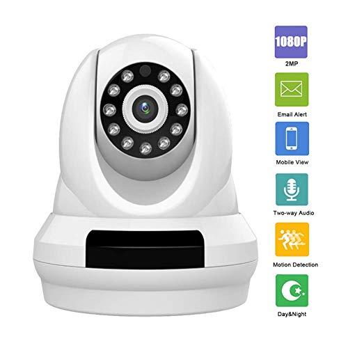 Fbestbody 1080P Wireless Outdoor-Überwachungskamera, 2-Megapixel-Full-HD-WLAN Kamera Infrarot Nachtsicht,Bewegungserkennung,Weiß,Modell FQ05 (Optik-video-baby-monitor)