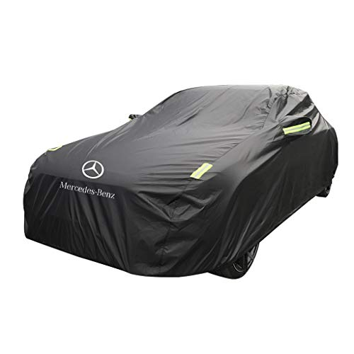 Preisvergleich Produktbild XXHDYR Autokappe Dicker Oxford-Sonnenschutz für Mercedes-Benz B-Klasse Autoabdeckung (Size : Oxford Cloth - Single Layer)