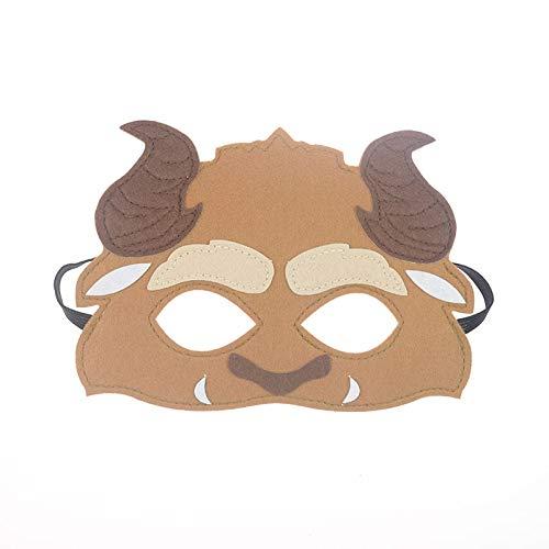 VAWAA Maske Schönheit Und Das Tier Dc Super Hero Batman Maske Kinder Junge Mädchen Kostüm Star Wars Avengers DIY Maskerade Augenmaske Cosplay DIY