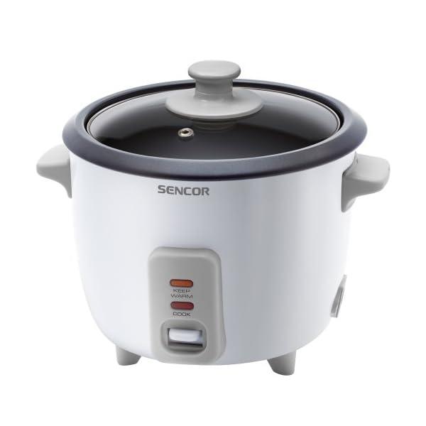 Sencor-SRM-0600WH-Cuiseur-de-riz-300W-Volume-de-06-l-pour-cuire-450-g-de-riz