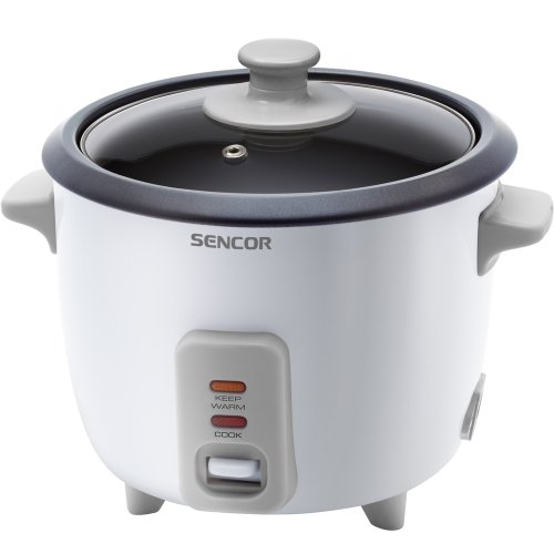 Sencor SRM 0600WH rice cooker - rice cookers (50/60 Hz, 220 - 240 V, Grey)