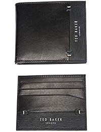 b3965c55e Ted Baker Taglee Black Leather Wallet   Card Holder Gift Set