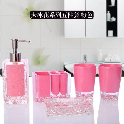 Bagno di resina 5 Pezzo Euro-Continental Vanity Kit da bagno