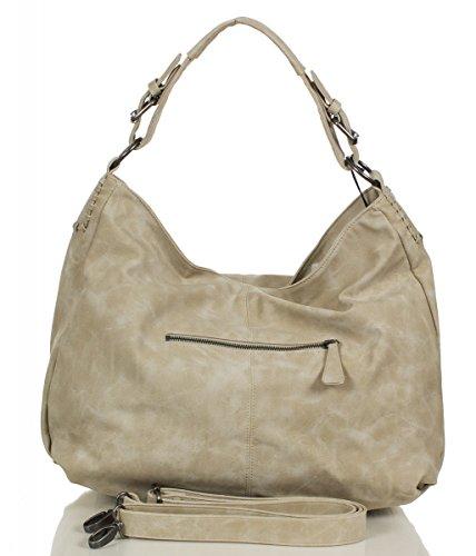 Fritzi aus Preußen Rike New York Shopper Tasche 53 cm linen