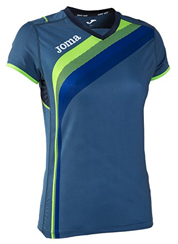 JOMA T-SHIRT ELITE V S/S Uniforms MAGLIA SPORTIVA DONNA AZUL