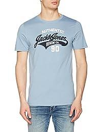 JACK & JONES Jjelogo Tee SS Crew Neck Two Color Noos, T-Shirt Uomo
