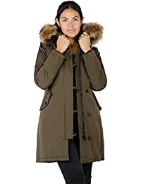 Arctic Parka Khaki from DSGUIDED on 21 Buttons