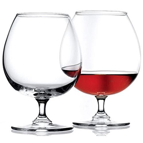 Pasabahce Cognacschwenker 680ml, 6er Set Cognac Gläser, spülmaschinenfest, elegant und hochwertig Cognac Glas