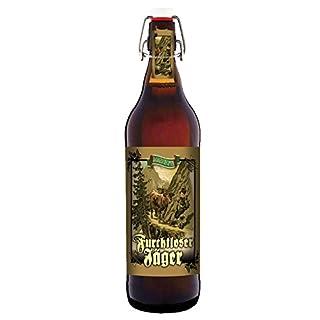 Furchtloser Jäger - 1 Liter Flasche Bier mit Bügelverschluss (keine Geschenkverpackung)