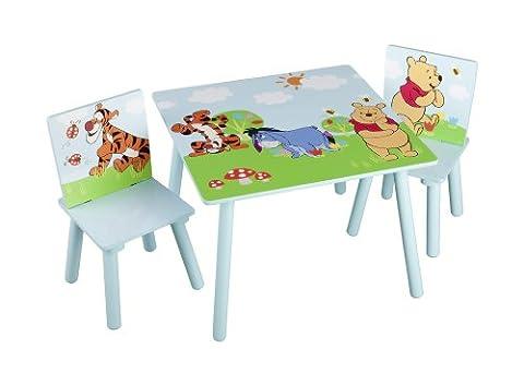 Delta Children - TT89314WP - Winnie l'Ourson - Table et Chaise