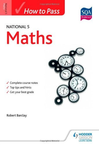 By Bob Barclay How to Pass National 5 Maths (HTP5)