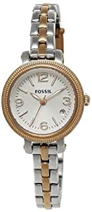 Fossil End-of-Season Analog White Dial Women's Watch- ES3217