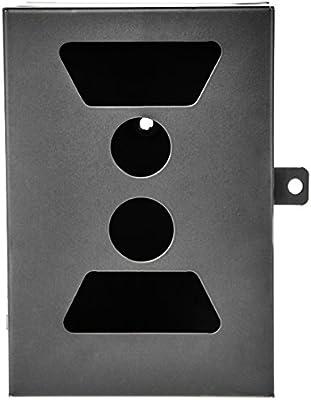 Ultrasport UmovE - Carcasa metálica protectora con puerta y dispositivo de cierre para la cámara de vigilancia/cámara de naturaleza Secure Guard Ready y Pro Ready