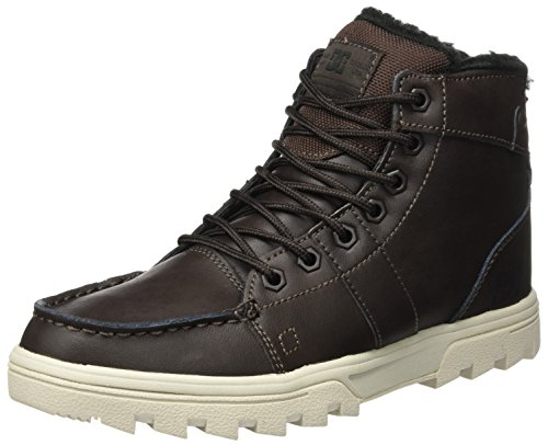 DC Shoes Herren Woodland Klassische Stiefel, Braun (Brown/Tan (BTN), 46 EU