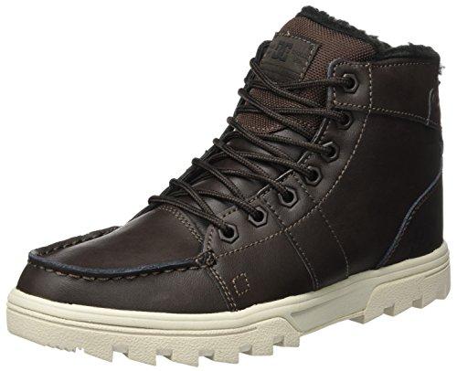 DC Shoes Woodland, Botas Clasicas para Hombre, Multicolor (Black/Cement/Tennis), 41 EU