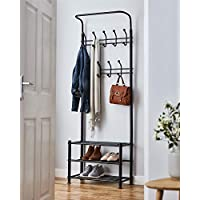 Direct Online Houseware Multi Purpose Stand 18 Hooks For Clothes Shoes Hats Bags