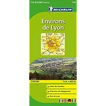 Michelin ZOOM Lyon Environs de Lyon Map 110 (Maps/Zoom (Michelin)) (French Edition) by Michelin (2011-10-16)