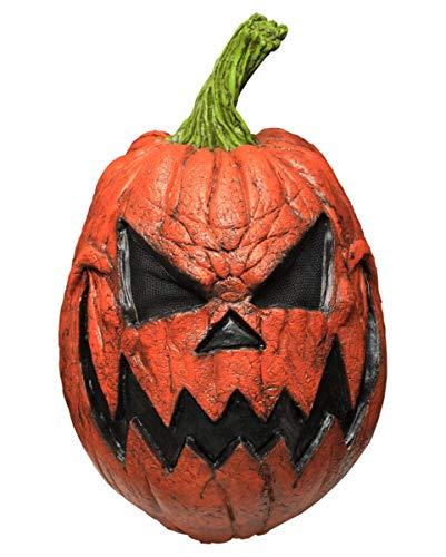 Horror-Shop Pumpkin Maske Kürbiskopf | für -
