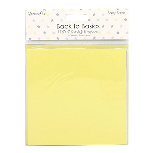 dovecraft-back-to-basics-baby-steps-cards-and-envelopes-6x6-12-pack