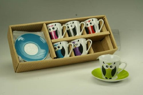 TAZZA CAFFE'C/P.PZ.6 GUFO 582349
