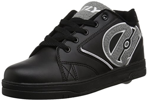 Heelys Propel Terry Schuhe schwarz-grau schwarz-grau, 40.5 (Heelys Grau Schuhe)